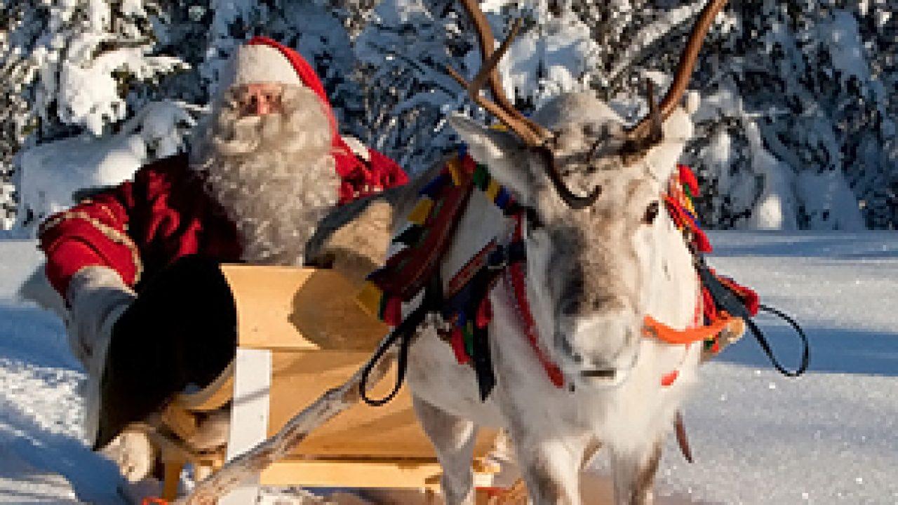 Babbo Natale Casa.Come Arrivare Alla Casa Di Babbo Natale In Lapponia In Auto Treno Aereo E Bus Dimmi Come
